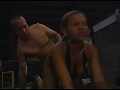 German Amateur Hardcore video: Hardcoe Sex on Trailer - German Porn