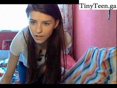 Cutie makes a show in her room - Self Shot website: TinyTeen.club
