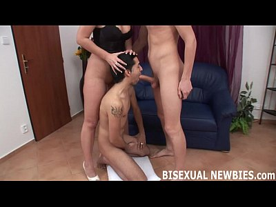 Masturbating in the kitchen