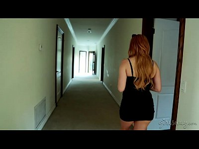 Blonde Girlongirl Lesbian video: Lexi Belle spying on Charlotte Stokely