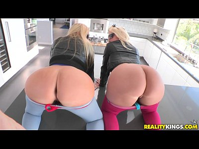 Two Perfect Big Booty Blondes