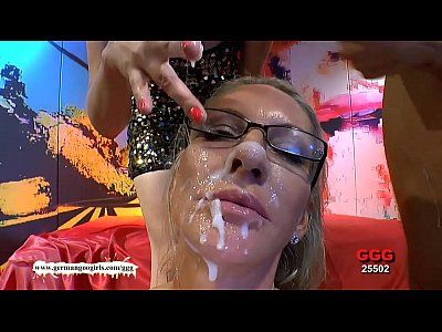Bestof Blonde Brunette video: German Goo Girls - Facial Cumshots compilation