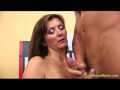 Czech Deepthroat Mature video: my horny stepmom fucked