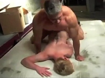 Daddy fucks his twink