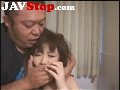 【浜崎りお】Gカップ巨乳痴女が喉奥フェラ&正常位ハメ撮りやってます