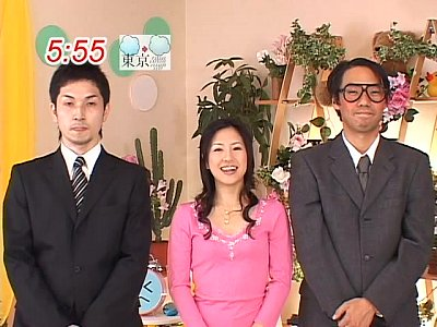 【杉崎夏希】生放送中の女子アナにメイドコスプレをさせてまさかの生セックスでござる