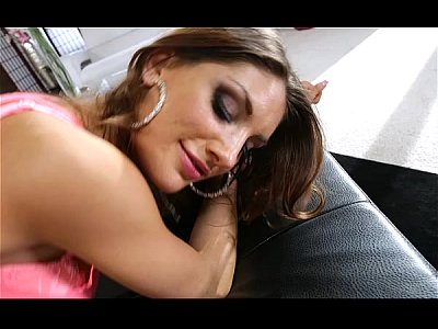Foxy Babe August Ames Gets Bent Over By Boyfriend