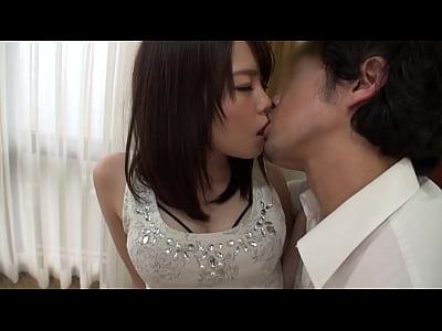 可愛い系の美女お姉さんの美乳パイズリ→網タイ着衣SEX