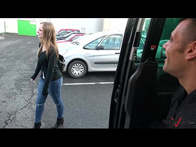 Public Oral Teen vid: Takevan Shy blonde sales woman love Wendy Moon's tits & come fuck to driving van