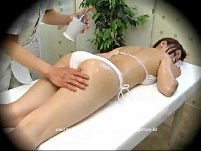 Model Seduced During Massage