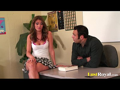 Blowjob Shaved video: Can you resist Victoria Lawson in a miniskirt