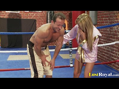 Tits Shaved video: Busty Francesca Felluci learns about fighting and fucking