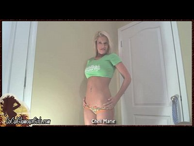Girls webcam strip video