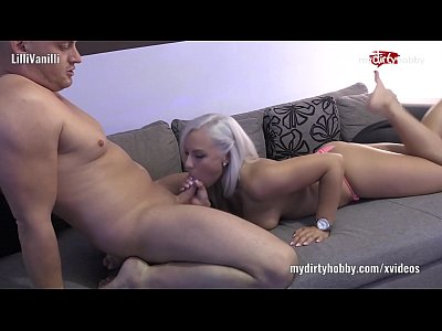 Blowjob Deepthroat German video: My Dirty Hobby - LilliVanilli the tiny Fuckmachine