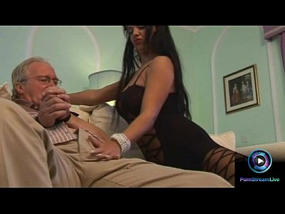 Blowjob Cumshot Handjob video: Cory Everson finally fucked the dirty old man