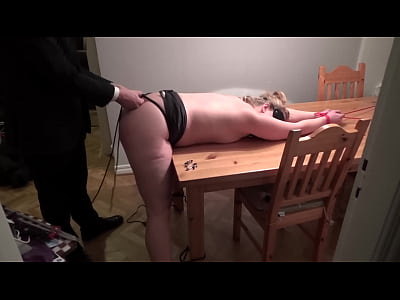 Spanking Slave Sweden video: My new slut in her first session! Pt 1