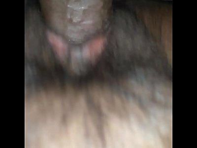 sucking a dildo