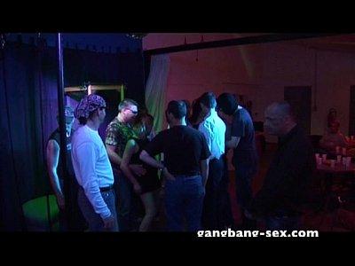 Hardcore Bukkake Fetish vid: fuck & dance hardcore gangbang party