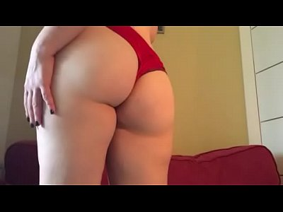 Milf Cum porno: Cum to My Red Panties 60fps by HotwifeVenus