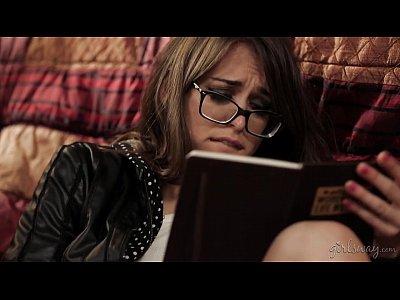 Girlongirl Lesbian Lesbianporn video: Hot investigator read a diary - Sara Luvv, Riley Reid, Karlie Montana