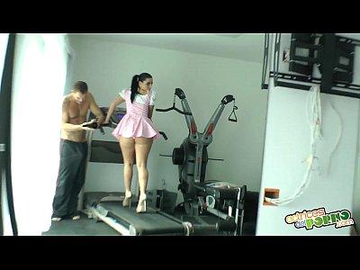 Peliculas de Sexo haciendo gimnasia nacho vidal fuck 039 s brunette at gym