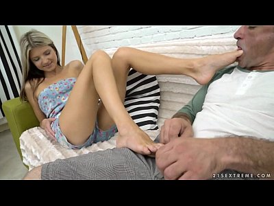 Blowjob Footjob Ass video: Doris Ivy footjob, piss and orgasms