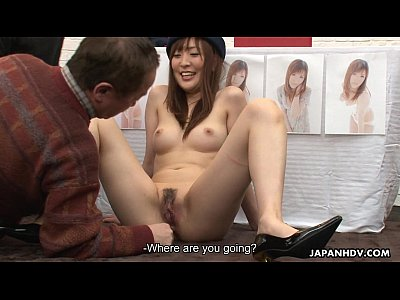 Ass Avidol Bigcock video: Asian bitch getting her wet pussy painted on