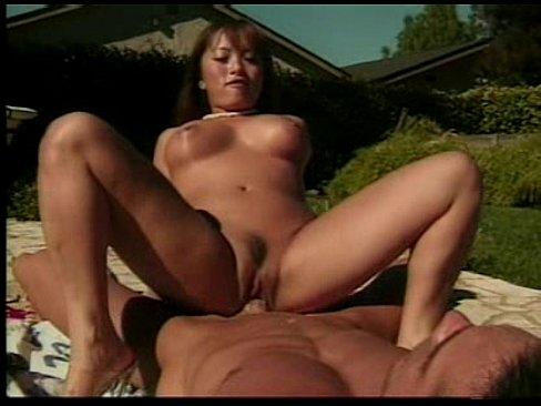 Asian Pornstar Fujiko Kano Anal Outdoors