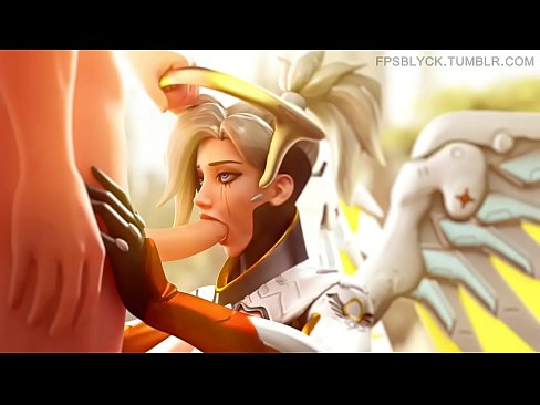 FapZone // Mercy (Overwatch)