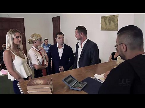 Judgement day sexy lawyer negotiates double penetration 7