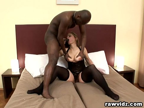 Horny Milf Magda First Big Black Cock