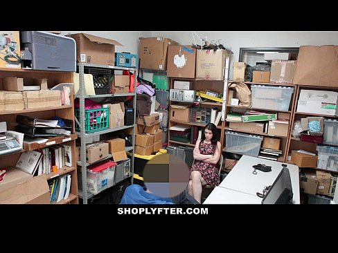 Shoplyfter - A Hard Fuck Punishment For Rebelious Teen
