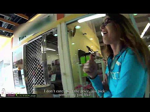 MallCuties - shy tenn girl - teen girl - public with teen