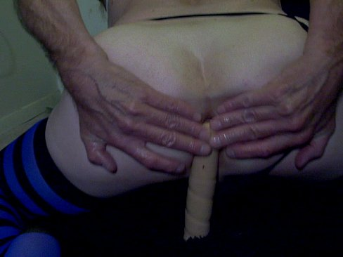12 Inches Anal, Gaping & Orgasm