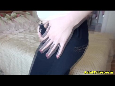 First Time Anal For Amateur Girlfriend