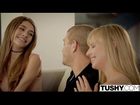 TUSHY Teens Jillian Janson and Rebel Lynn Do Anal