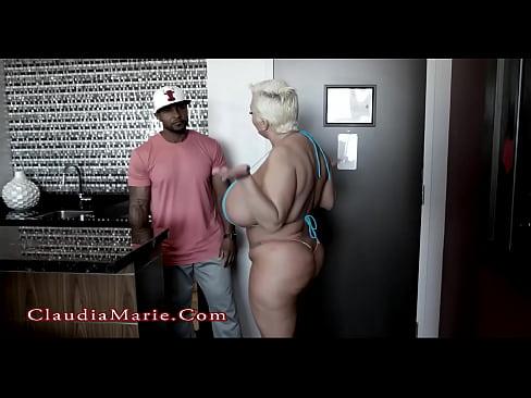 Claudia Marie Twerking For Black Cock