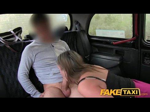 FakeTaxi Big tits babe