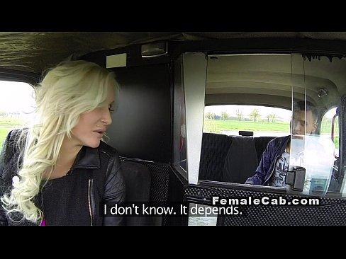 5 Min Female FakeTaxi.com Driver Fucks Her Male Passenger
