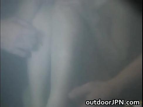 【星野あかり】スレンダーなJKが興味本位で混浴に入った結果おっさんたちにレイプされました