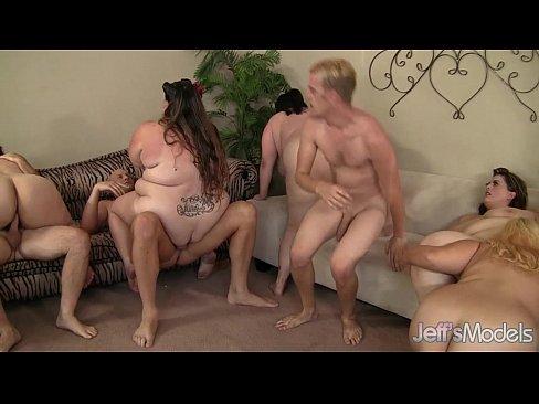 fat orgy Fat chicks show orgy 2 .