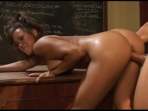 Professora escandalosa dando na sala