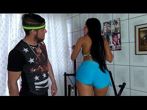 Brasileira Muito Gostosa Faz Sexo Anal Na Academia