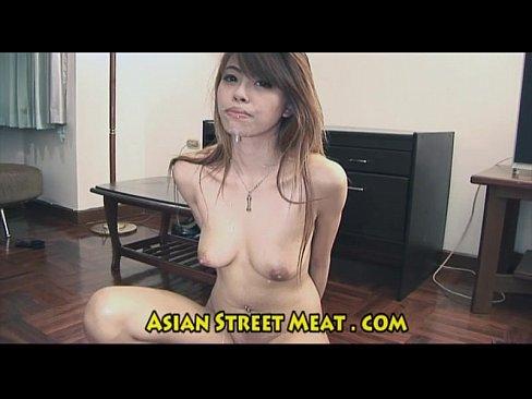Cute Thai Street Zombie Fuck