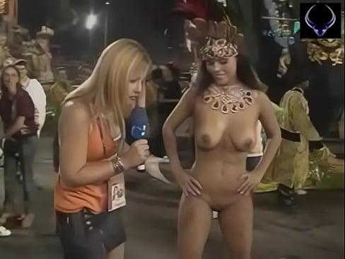 Mulheres peladas no carnaval brasileiro