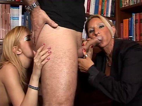 Young slut shagged by a mature man