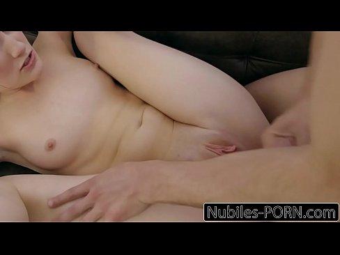 NubilesPorn - Teen Tricks Him To Cum Inside Her