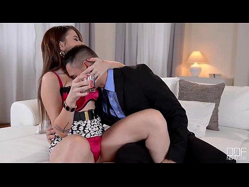 DDF Busty - Busty Russian mafia princess fucks like a Queen