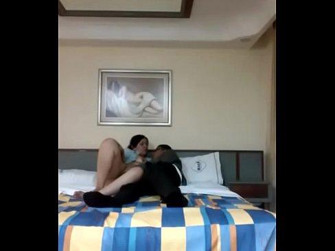 Putita de Ecatepec visitando el hotel le dan tremenda cogida