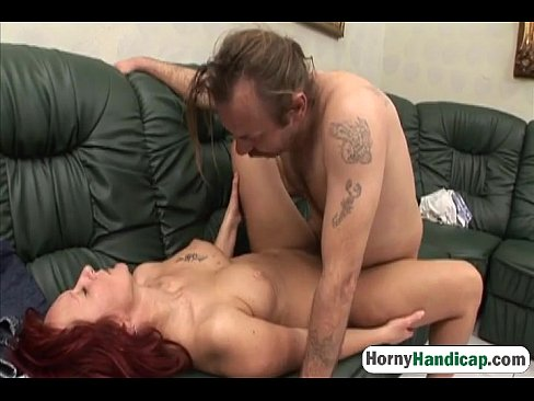 Sexy caregiver gets her pussy slammed by horny one legged manman-hi-3